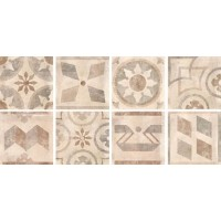 TES12476 Icon Folc Almond Mix 8 60x60