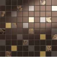 I313K6A Giselle Mosaico Mini Marron 31.5x31.5