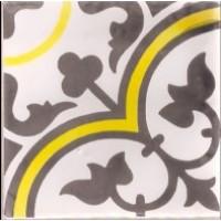 Керамическая плитка  метлахская Diffusion Ceramique TRC1515D09