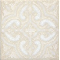 STG/B408/1266 Амальфи орнамент белый 9.9*9.9