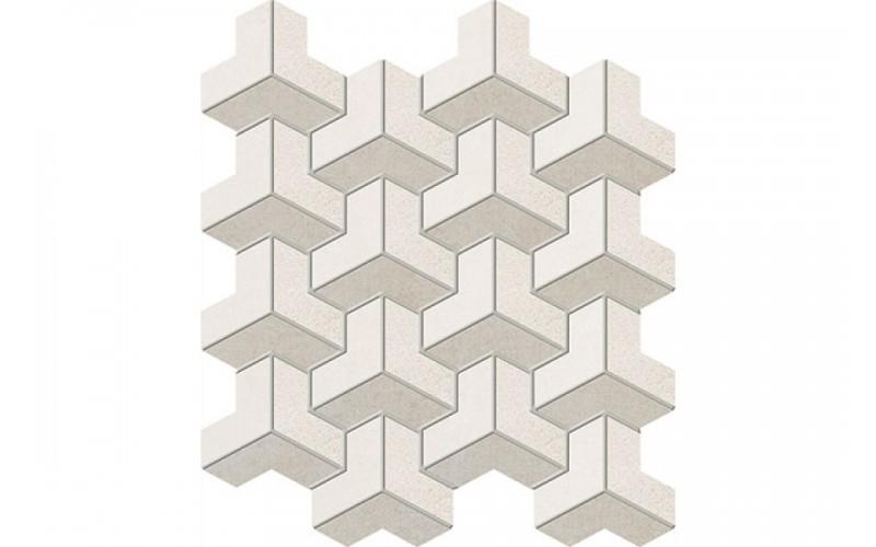 Керамическая плитка Мозайка Puntini ecru 271x235 Tubadzin ARTE 271x235 мм Tubadzin tubart127