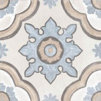 ADOBE Basma Decor Ivory Mate 20x20