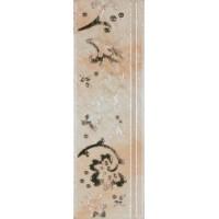 Cadoro Border Pearl White Glossy 10x30