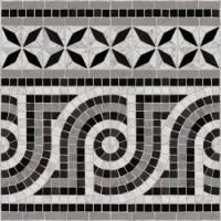 TES266 Cenefa Nola 43,5x43,5 Negro g.76 43.5x43.5