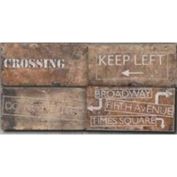 TES4486 New York Road Signs Mix Chelsea 10x20