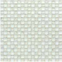 Мозаика матовая белая TES79710 Роскошная мозаика