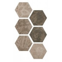 TES2524 HEXAGON PATCHWORK Cold 25*22 25x22