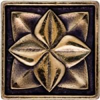 Декоративная латунная Лилия 5x5