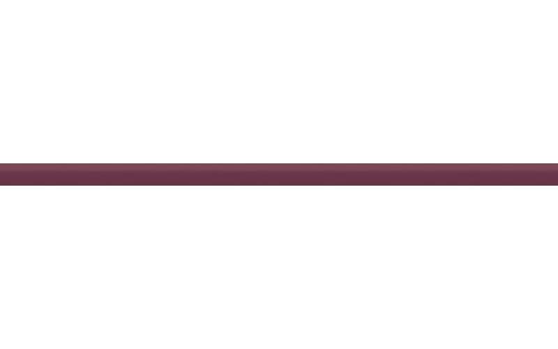 Керамическая плитка стеклянный бордовый  2x50 Ceradim TES7859