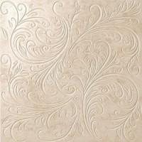TES9347 Unica Bianco 60 Leaf Lapp 60x60