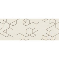Clarity Decor Polygon Marfil 25x65