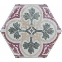 920819 Декор HEXATILE RAMBLA BEIGE Equipe Ceramicas 17.5x20