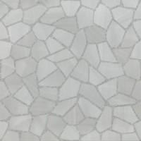 01344 Bits & Pieces STEEL GRAIN FACET Lev Ret 60x60