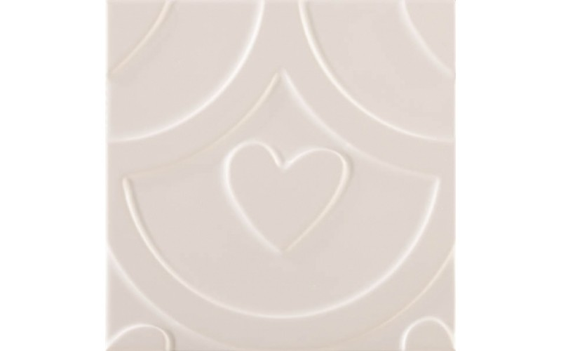 Керамическая плитка Декор AGATHA COEUR BLANCO Pamesa 25x25 Pamesa 926949