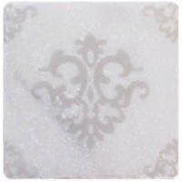 TES7156 WHITE MARBLE Motif №3 10X10 10x10