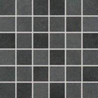 Мозаика матовая черная DDM06725 RAKO