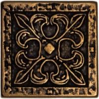 Декоративная латунная Вензель 5x5