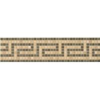 372x51 Vanitas FASCIA GRECA ORO/NOCE/SILVER 9,8x39,4