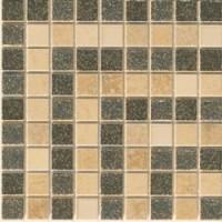 37x71 Vanitas GIROSPECCHIO GRECA ORO/NOCE/ SILVER 9,8x8