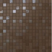 9DQB Dwell Brown Leather Mosaico Q 30,5х30,5