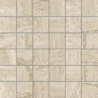 8DFA9X6/L  Travertini Mosaico 36pz Glossy Crema 27.75x27.75