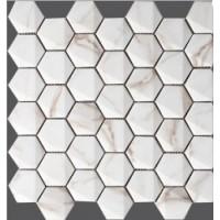 Hexagonal Calacata 30x30