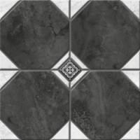 Керамогранит  черно-белый Керамин TES19798