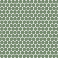 735612 Extra Light Mosaico Circle Jade 30x30