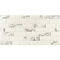 Керамическая плитка  белая под кирпич Imola Ceramica TES93172