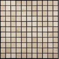 M025-25P (Crema Marfil) Мрамор 25х25 305х305