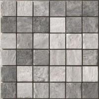 BIARRITZ MOSAICO MIX GRIGIO 30x30 (5x5)