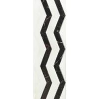 Керамическая плитка  черная под мрамор Piemme Valentino 818