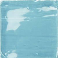 CRFO  Country Rustic Ocean Blue Field Wall Tile 10x10