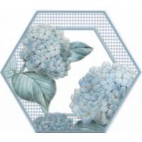 Керамическая плитка  для ванной голубая Kerama Marazzi HGDA30124001