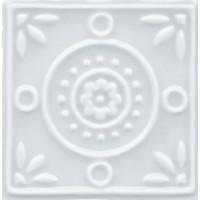 MEL1313DC03  Decor Piccadilly Circus Blanc 13x13