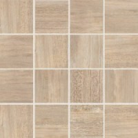 747769 Selection Cream Oak Mosaico 7.5x7.5 6mm 30x30