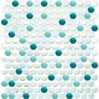 Мозаика  бирюзовая TES33230 Keramissimo