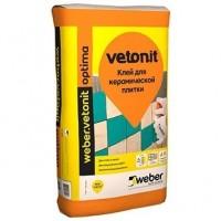 Плиточный клей  Weber.Vetonit (Россия)