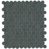 Brooklyn Round Carbon Mosaico 29.5x32.5