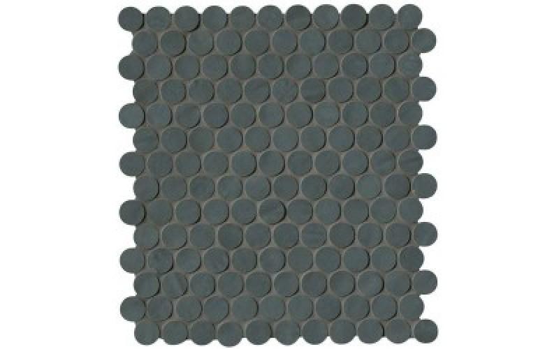Мозаика Brooklyn Round Carbon Mosaico  29.5x32.5 FAP Ceramiche TES76545