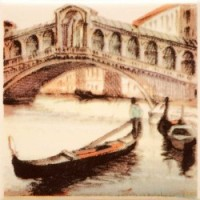 TES105414 PARMA CITY BRIDGE 2 10х10 10x10