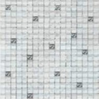 Мозаика матовая белая TES79720 Роскошная мозаика