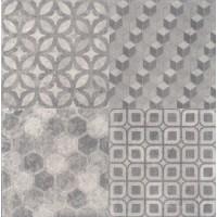 SG150900N Саттон орнамент серый  40.2*40.2 40.2x40.2