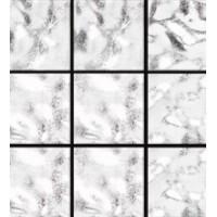 Aureo Modern 027 белое гофрированное 2x2 31.6x31.6