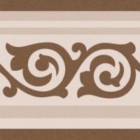Напольная плитка ANASTASIA BORDER BROWN Cas Ceramica