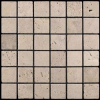 M090-48T (Travertine) Травертин 48х48 305х305