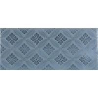 Настенная плитка MAJOLICA BLUE STEEL DECO Roca