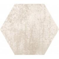 TES583 Concrete Almond Hex 25x22 22x25