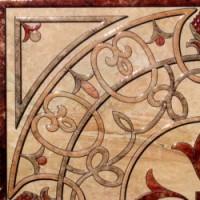 Roseton AGORA Rosso 45x45