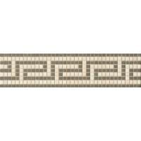 372x50 Vanitas FASCIA GRECA BEIGE/SILVER 9,8x39,4